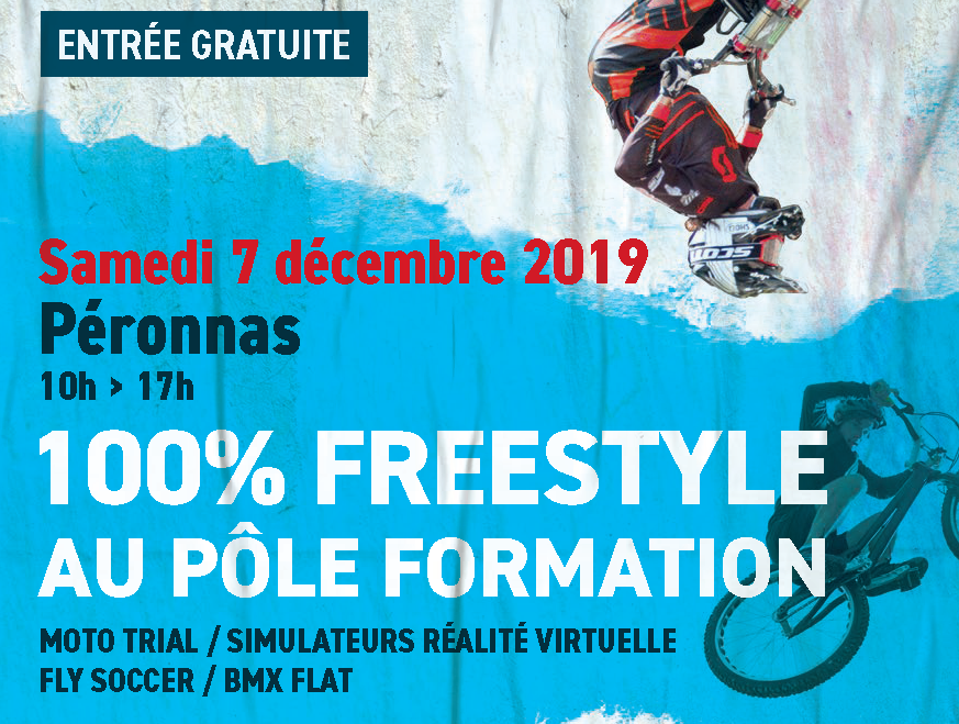 100 % FREESTYLE au pôle formation