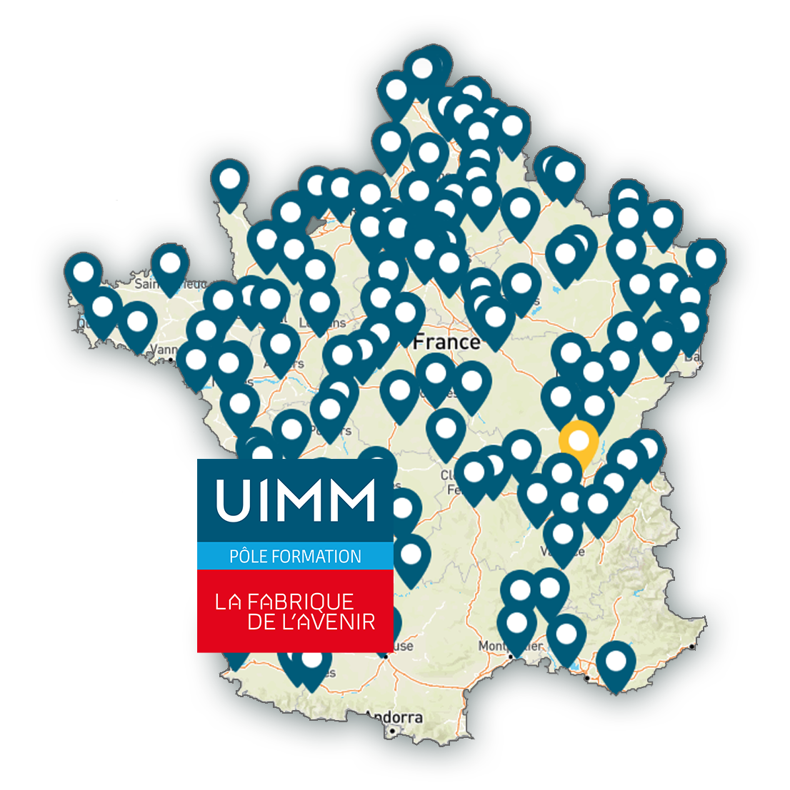 carte reseau pole formation UIMM