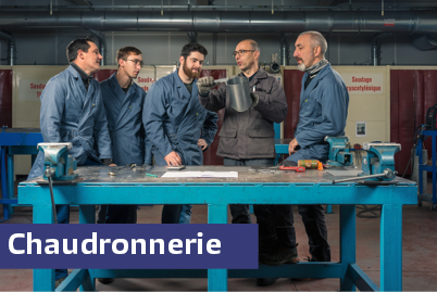 Mini stage chaudronnerie